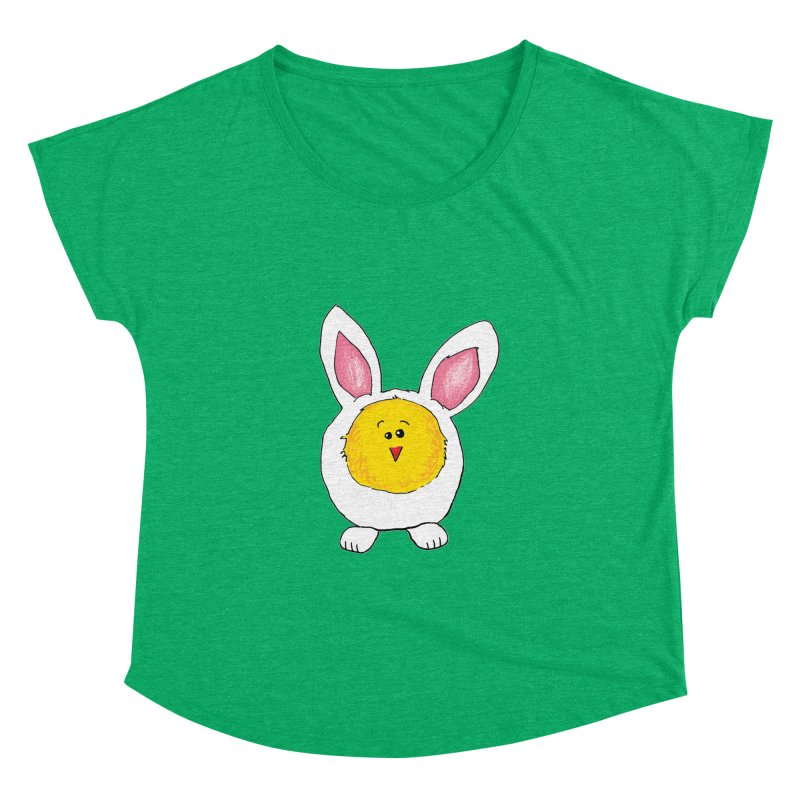 Chick in a Bunny Suit Women's Dolman by The Pickle Jar's Artist Shop