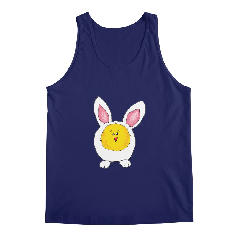 Chick in a Bunny Suit Men's Regular Tank by The Pickle Jar's Artist Shop