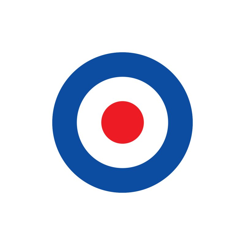 Mod target Men's Longsleeve T-Shirt by The Pickle Jar's Artist Shop