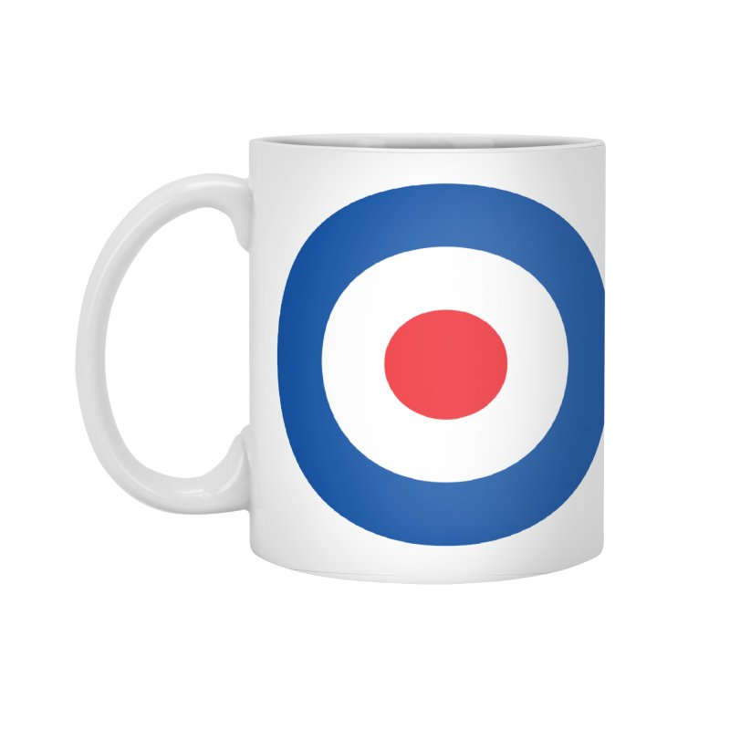 Mod target Accessories Standard Mug by The Pickle Jar's Artist Shop