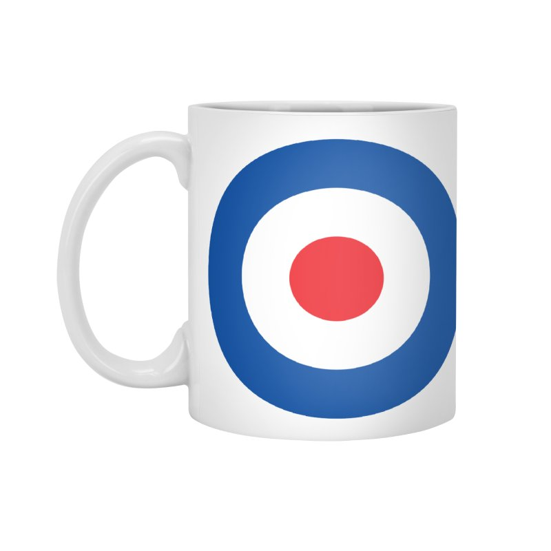 Mod target Accessories Mug by The Pickle Jar's Artist Shop
