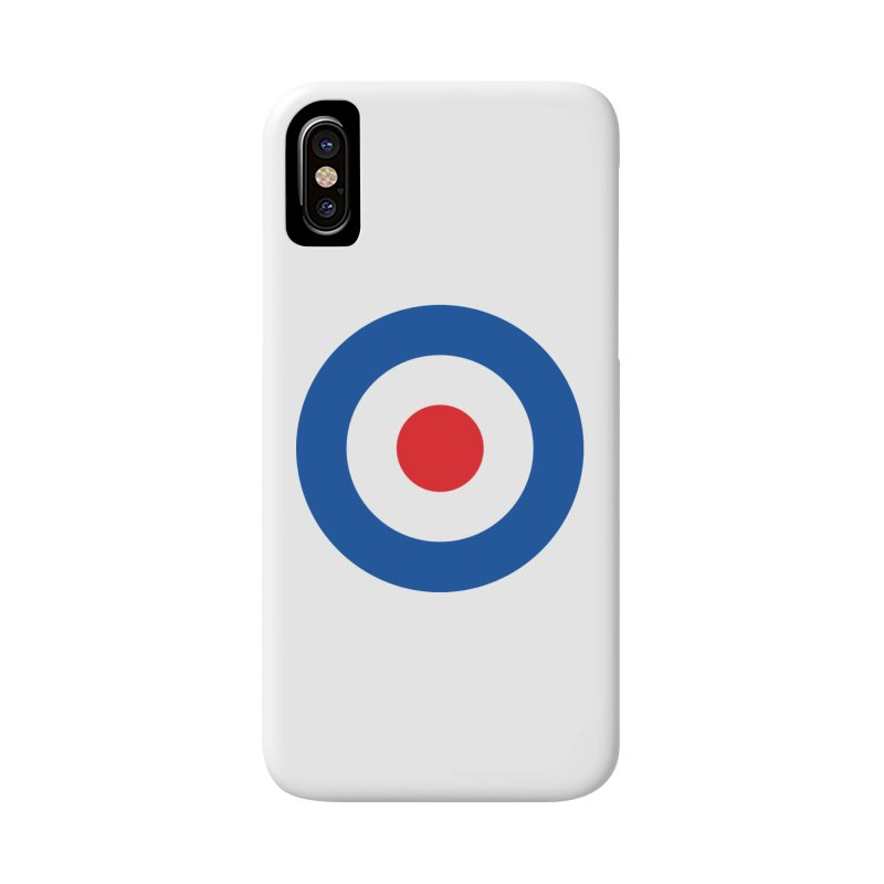 Mod target Accessories Phone Case by The Pickle Jar's Artist Shop