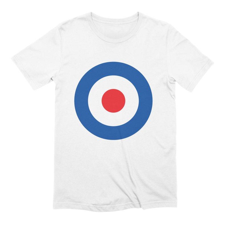 Mod target Men's Extra Soft T-Shirt by The Pickle Jar's Artist Shop