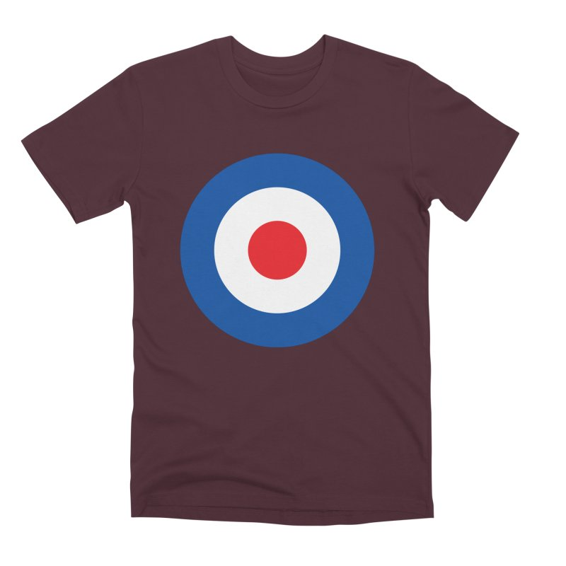 Mod target Men's Premium T-Shirt by The Pickle Jar's Artist Shop