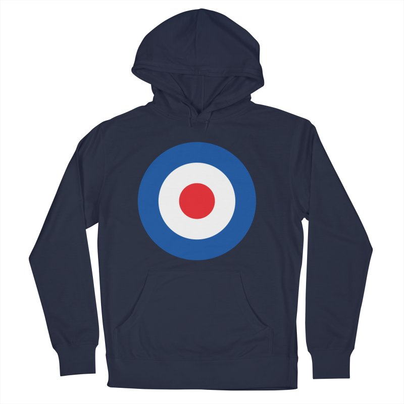 Mod target Women's French Terry Pullover Hoody by The Pickle Jar's Artist Shop