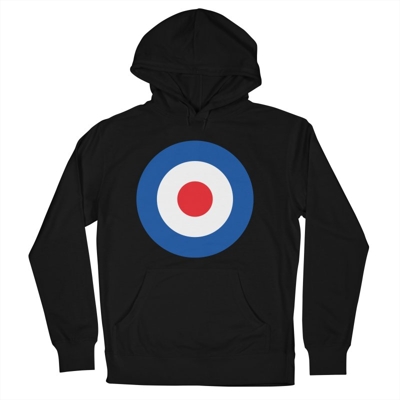 Mod target Men's French Terry Pullover Hoody by The Pickle Jar's Artist Shop