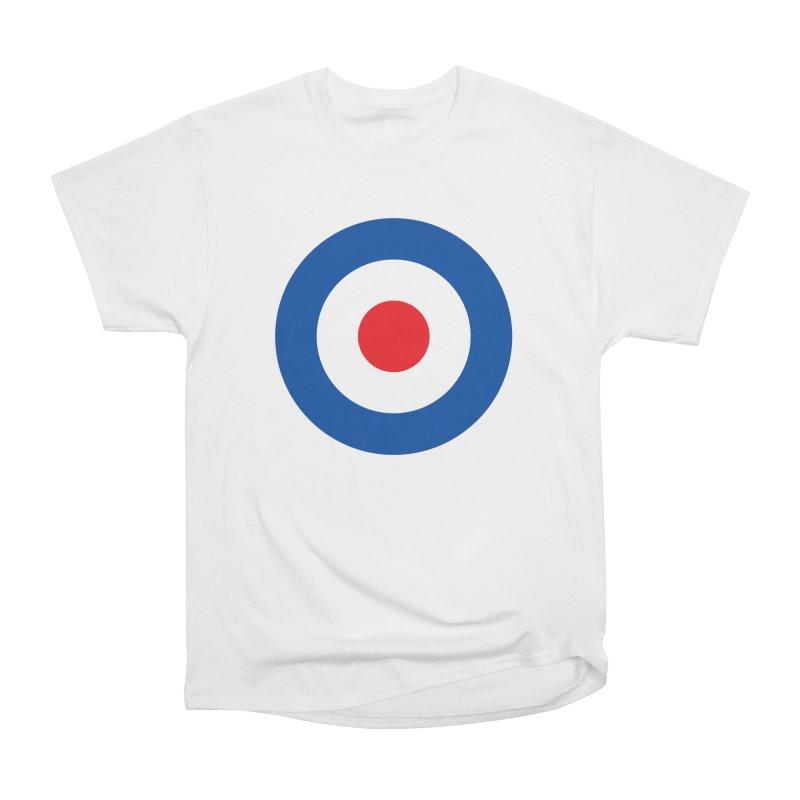 Mod target Men's Heavyweight T-Shirt by The Pickle Jar's Artist Shop