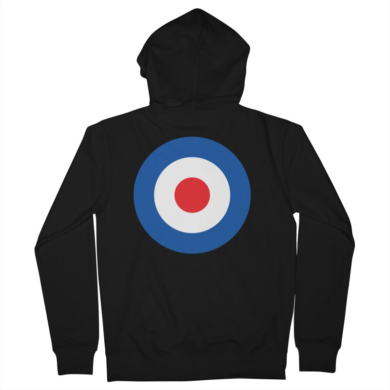 Mod target Men's Zip-Up Hoody by The Pickle Jar's Artist Shop