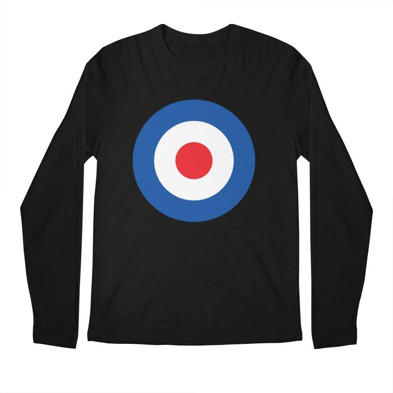 Mod target Men's Regular Longsleeve T-Shirt by The Pickle Jar's Artist Shop