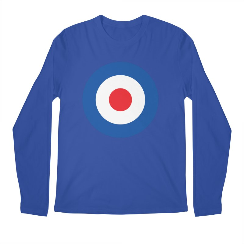 Mod target Men's Regular Longsleeve T-Shirt by The Pickle Jar's Artist Shop