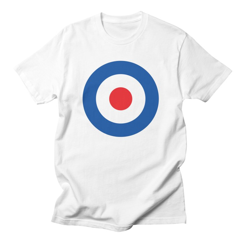 Mod target Women's Unisex T-Shirt by The Pickle Jar's Artist Shop