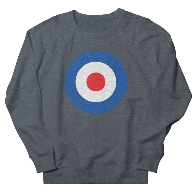 Mod target Women's French Terry Sweatshirt by The Pickle Jar's Artist Shop