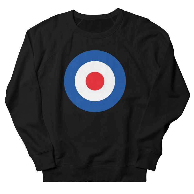 Mod target Men's French Terry Sweatshirt by The Pickle Jar's Artist Shop