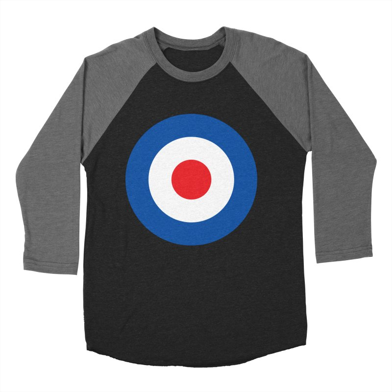 Mod target Women's Baseball Triblend T-Shirt by The Pickle Jar's Artist Shop