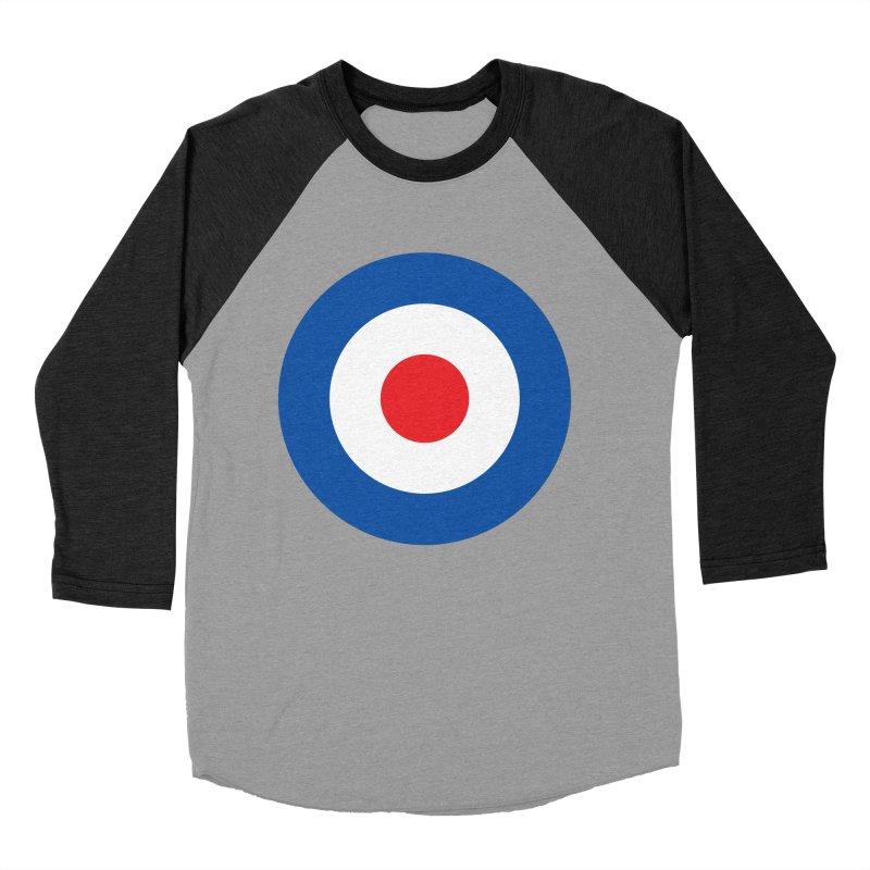 Mod target Women's Baseball Triblend T-Shirt by The Pickle Jar's Artist Shop