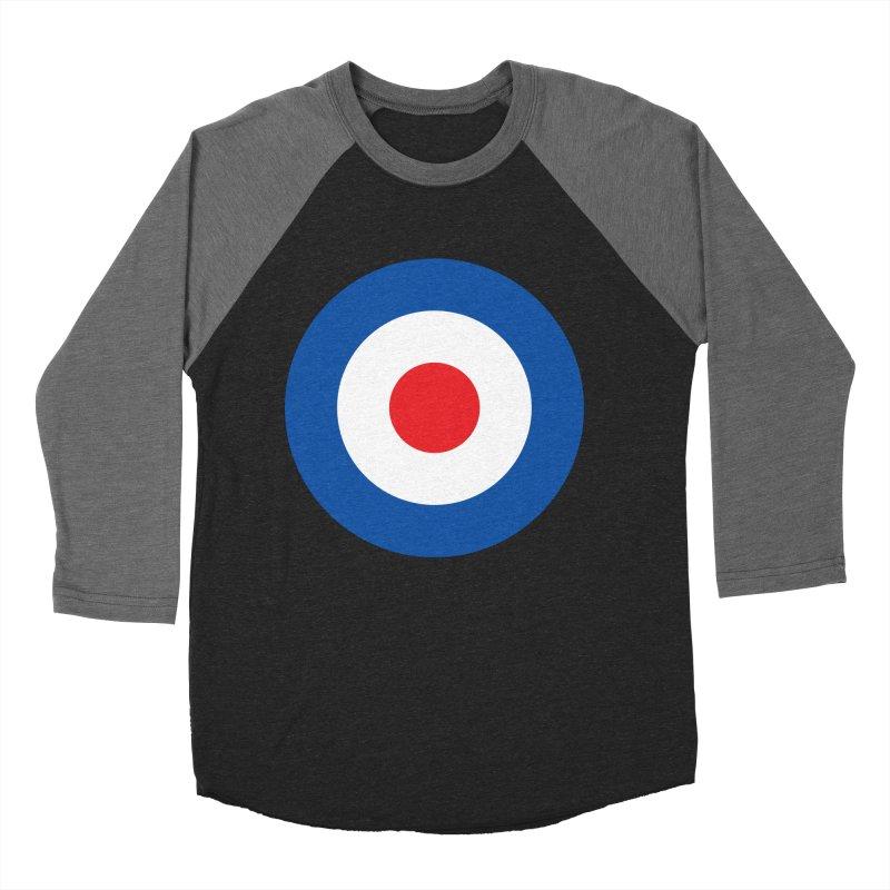 Mod target Men's Baseball Triblend Longsleeve T-Shirt by The Pickle Jar's Artist Shop