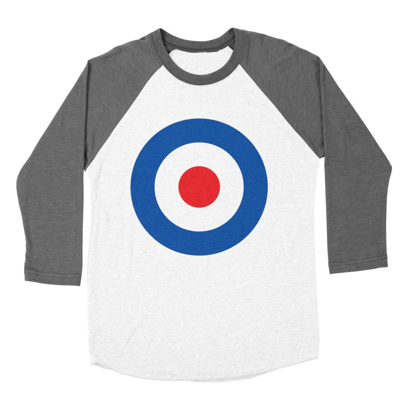 Mod target Men's Baseball Triblend T-Shirt by The Pickle Jar's Artist Shop