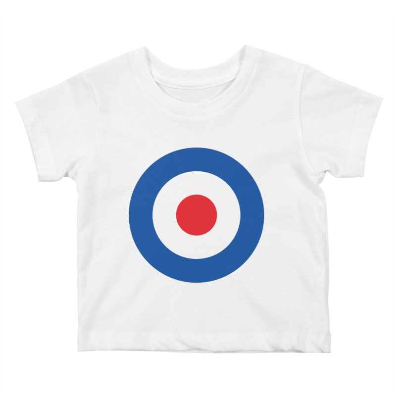 Mod target Kids Baby T-Shirt by The Pickle Jar's Artist Shop