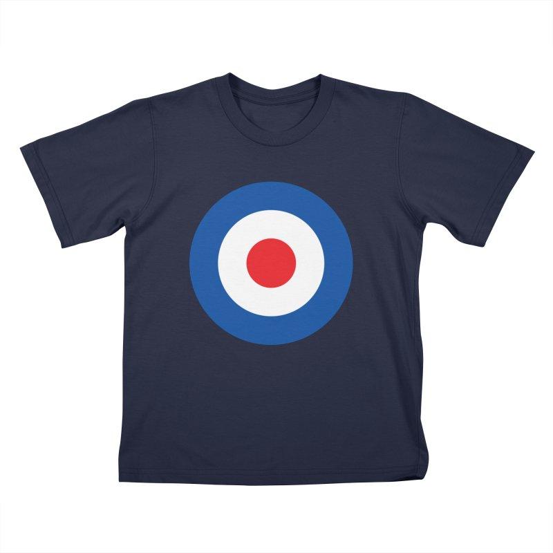 Mod target Kids T-Shirt by The Pickle Jar's Artist Shop