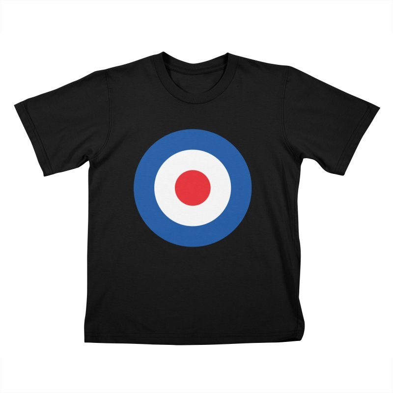 Mod target Kids T-Shirt by The Pickle Jar's Artist Shop