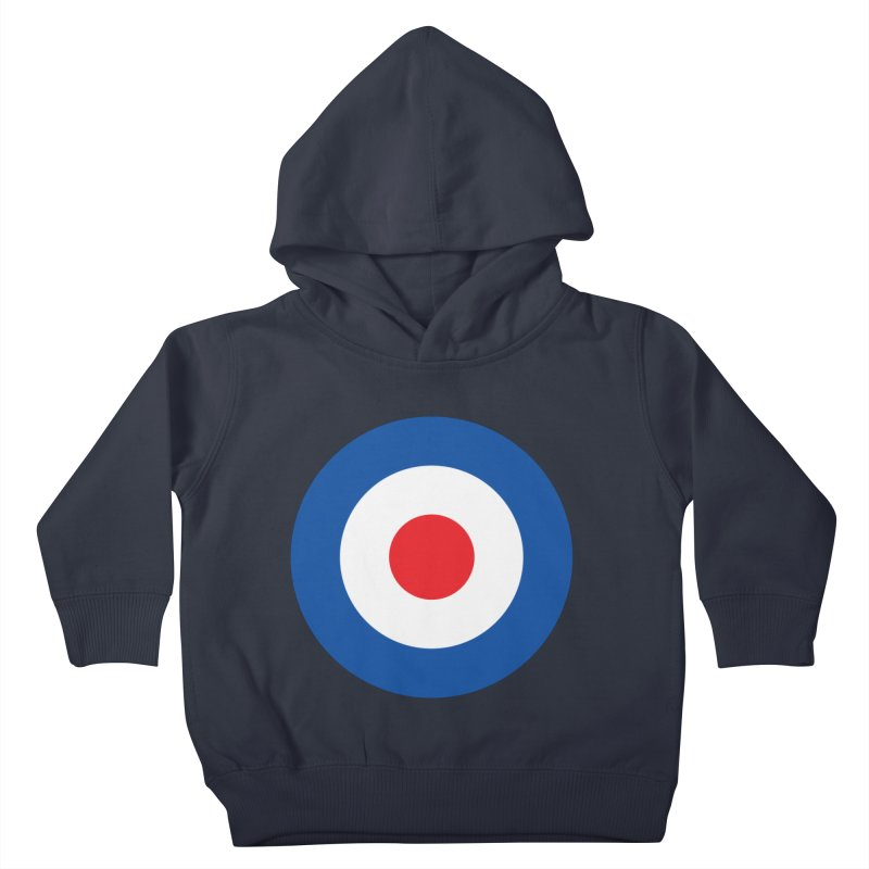 Mod target Kids Toddler Pullover Hoody by The Pickle Jar's Artist Shop