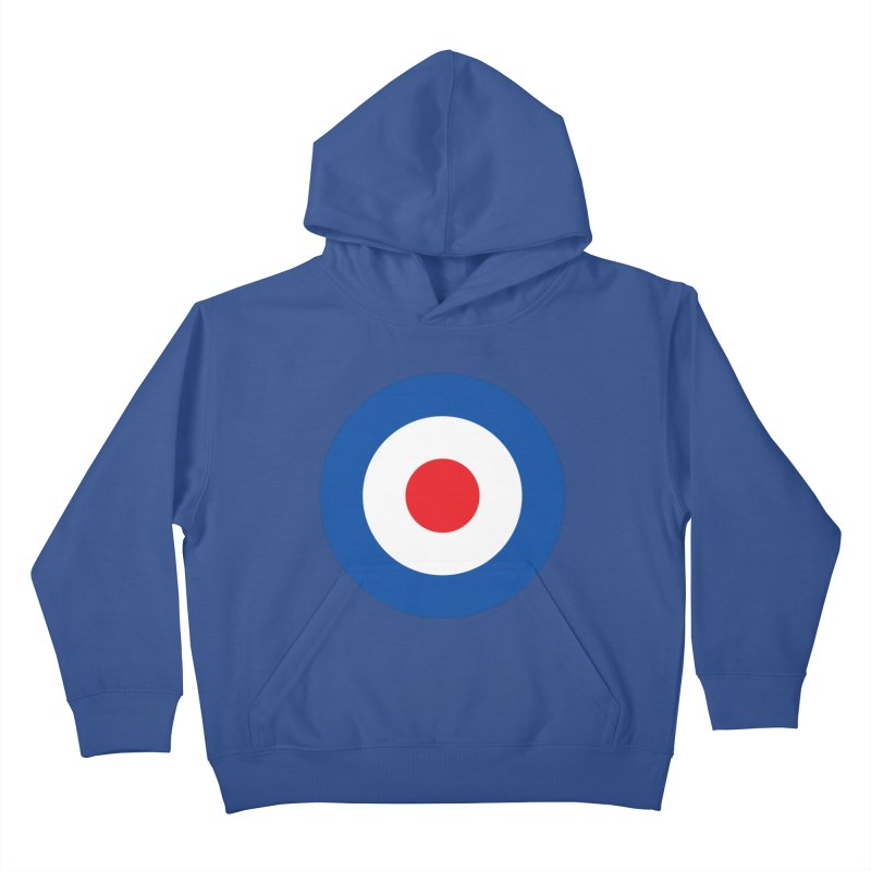 Mod target Kids Pullover Hoody by The Pickle Jar's Artist Shop