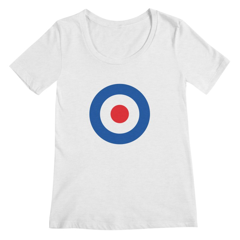 Mod target Women's Regular Scoop Neck by The Pickle Jar's Artist Shop