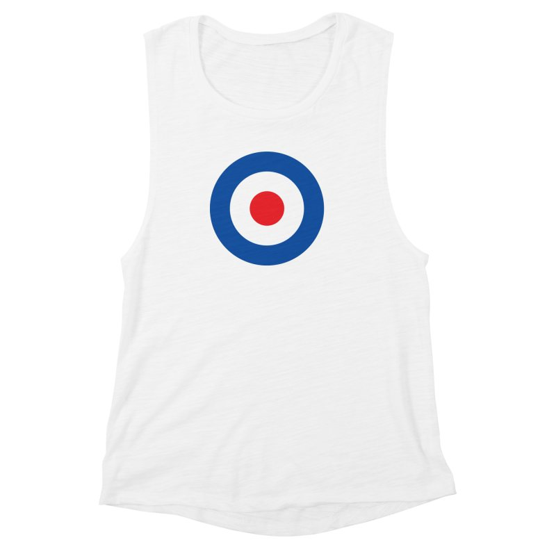 Mod target Women's Muscle Tank by The Pickle Jar's Artist Shop