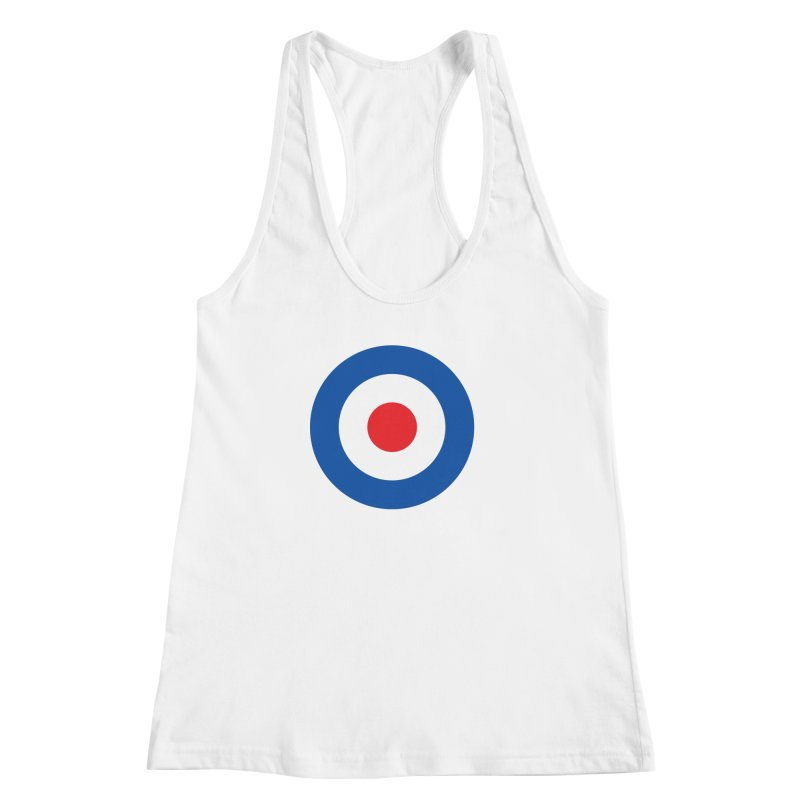 Mod target Women's Racerback Tank by The Pickle Jar's Artist Shop