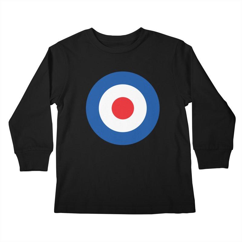 Mod target Kids Longsleeve T-Shirt by The Pickle Jar's Artist Shop