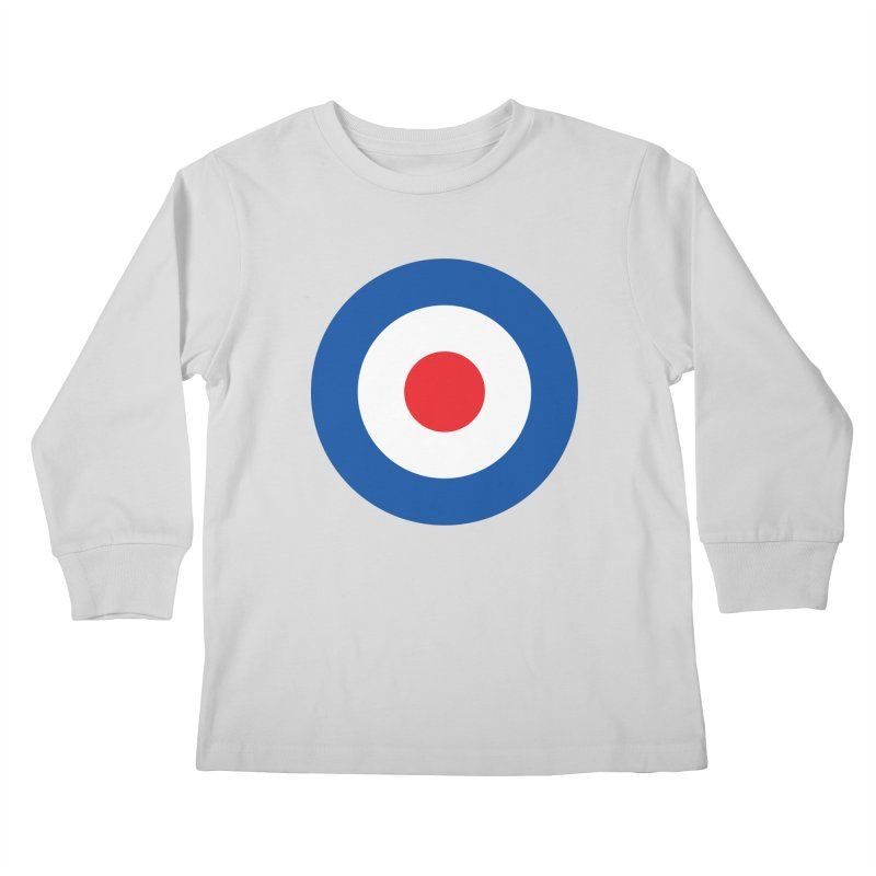 Mod target Kids Longsleeve T-Shirt by The Pickle Jar's Artist Shop