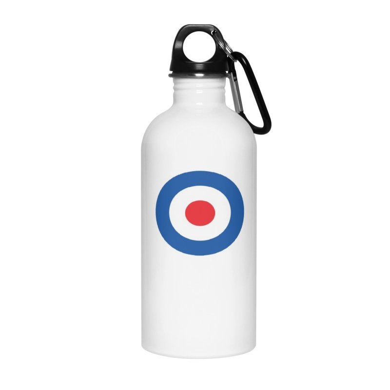 Mod target Accessories Water Bottle by The Pickle Jar's Artist Shop