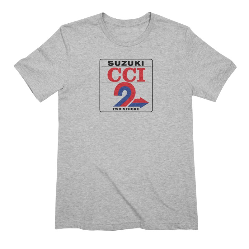 Classic 2 stroke Men's Extra Soft T-Shirt by The Pickle Jar's Artist Shop