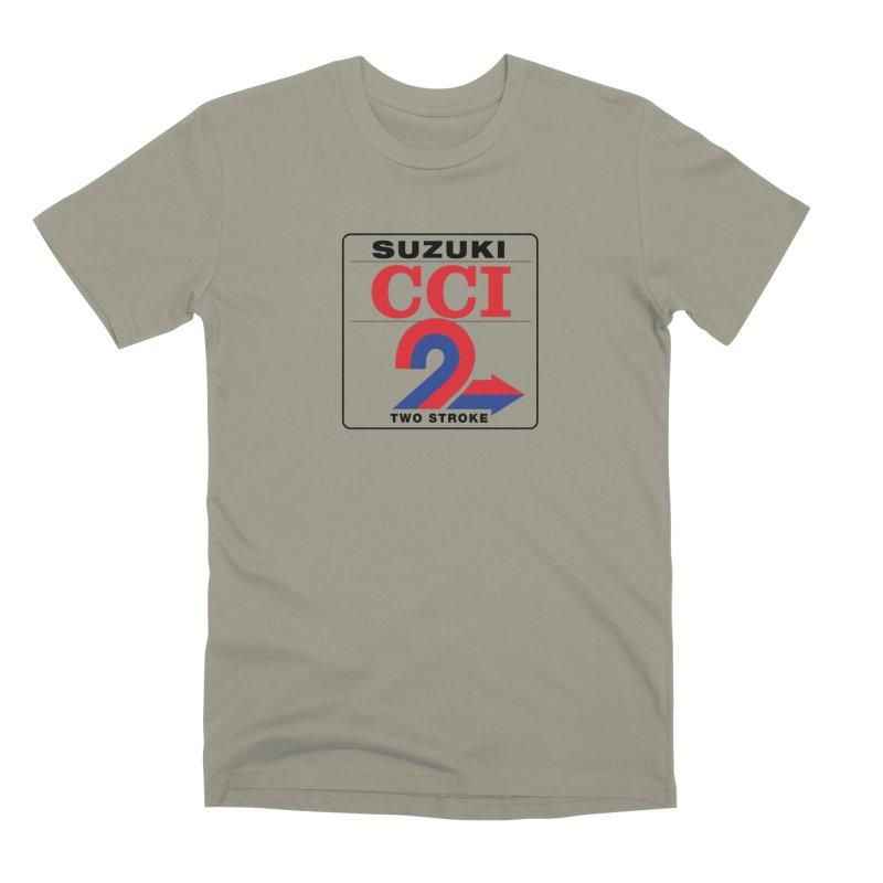 Classic 2 stroke Men's Premium T-Shirt by The Pickle Jar's Artist Shop