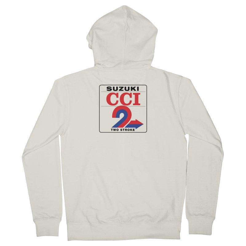 Classic 2 stroke Men's Zip-Up Hoody by The Pickle Jar's Artist Shop