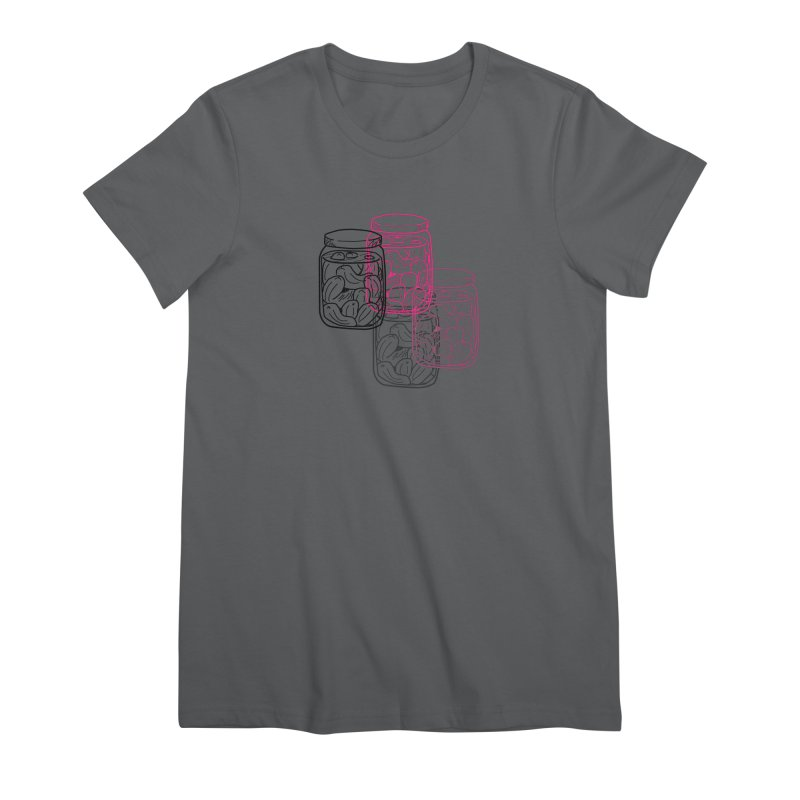 Pickle Jar frequencies Women's Premium T-Shirt by The Pickle Jar's Artist Shop
