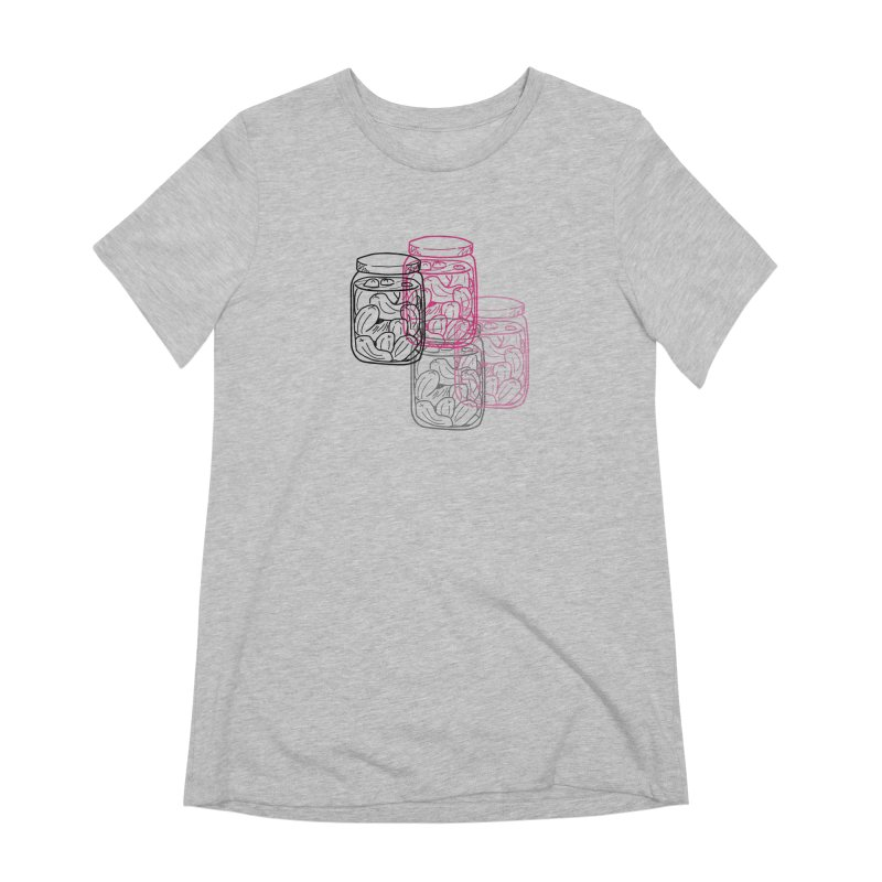 Pickle Jar frequencies Women's Extra Soft T-Shirt by The Pickle Jar's Artist Shop