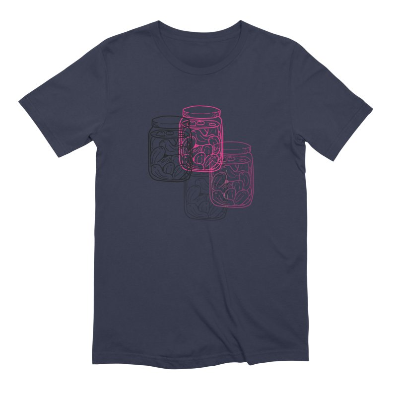 Pickle Jar frequencies Men's Extra Soft T-Shirt by The Pickle Jar's Artist Shop