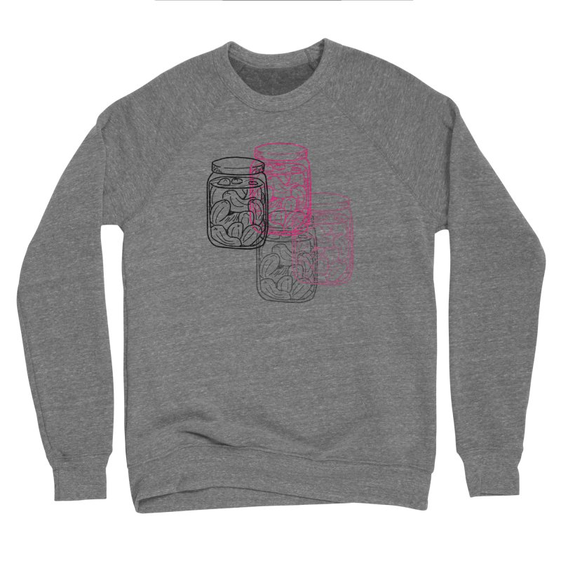 Pickle Jar frequencies Men's Sponge Fleece Sweatshirt by The Pickle Jar's Artist Shop