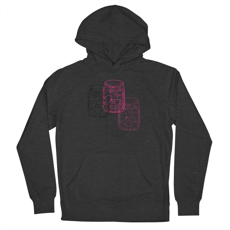 Pickle Jar frequencies Women's French Terry Pullover Hoody by The Pickle Jar's Artist Shop