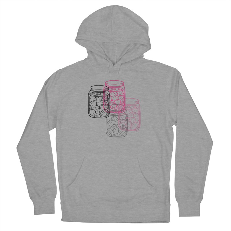 Pickle Jar frequencies Men's French Terry Pullover Hoody by The Pickle Jar's Artist Shop