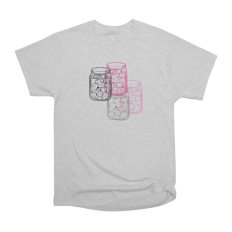 Pickle Jar frequencies Women's Heavyweight Unisex T-Shirt by The Pickle Jar's Artist Shop
