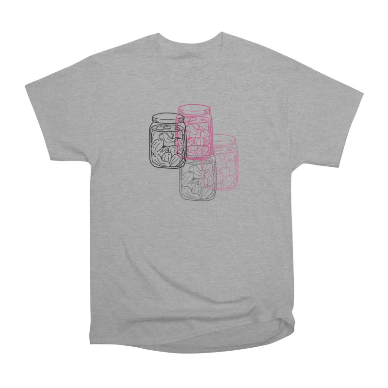 Pickle Jar frequencies Women's Heavyweight Unisex T-Shirt by The Pickle Jar's Artist Shop
