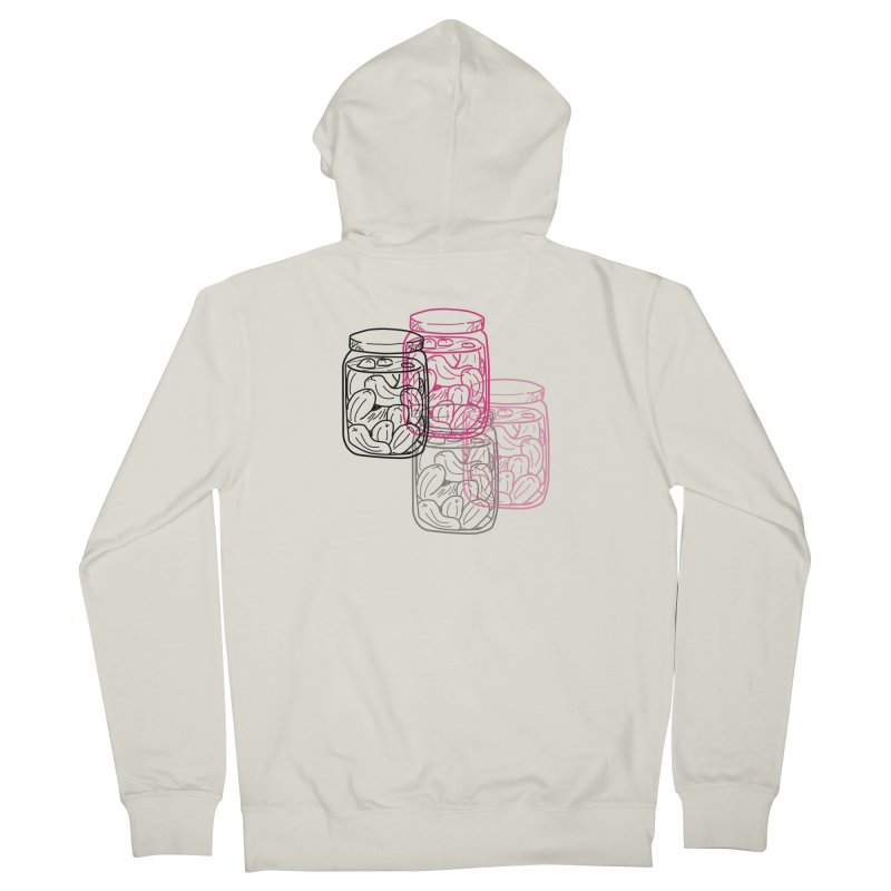 Pickle Jar frequencies Women's French Terry Zip-Up Hoody by The Pickle Jar's Artist Shop