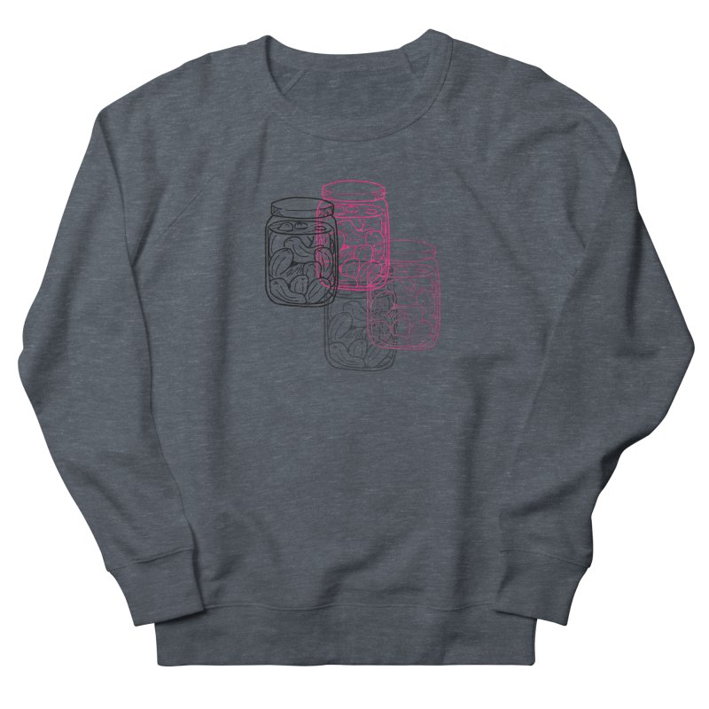 Pickle Jar frequencies Women's French Terry Sweatshirt by The Pickle Jar's Artist Shop