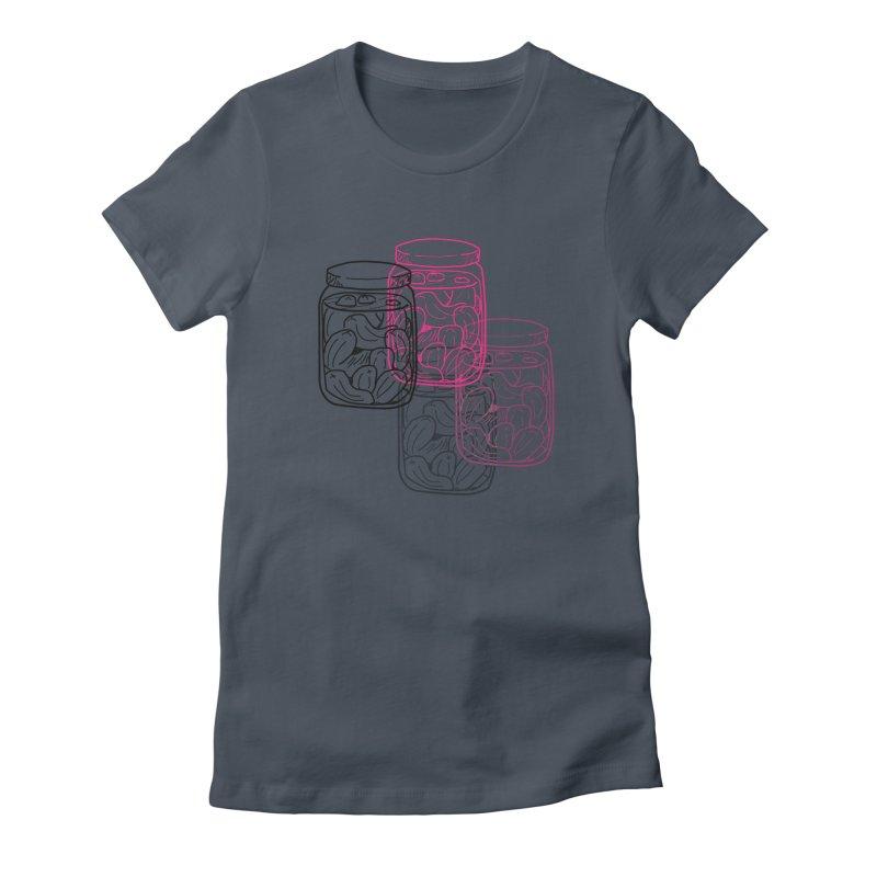 Pickle Jar frequencies Women's T-Shirt by The Pickle Jar's Artist Shop