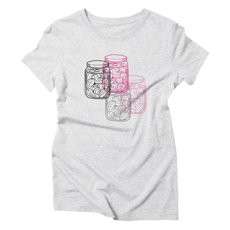 Pickle Jar frequencies Women's Triblend T-Shirt by The Pickle Jar's Artist Shop