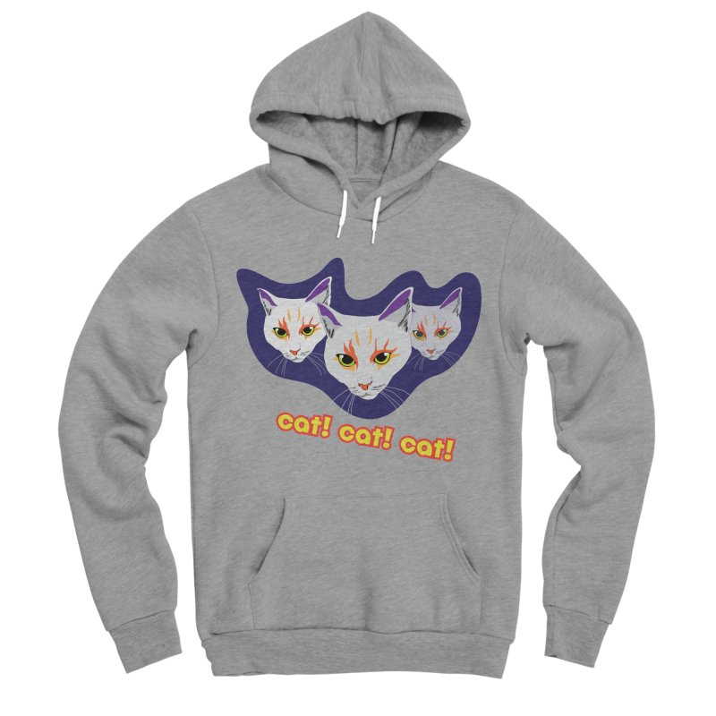 cat! cat! cat! Men's Pullover Hoody by The Pickle Jar's Artist Shop