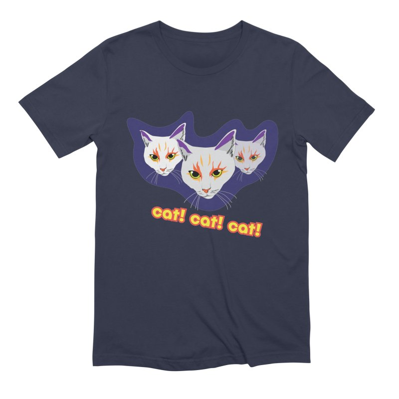cat! cat! cat! Men's Extra Soft T-Shirt by The Pickle Jar's Artist Shop