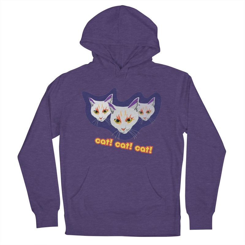 cat! cat! cat! Women's French Terry Pullover Hoody by The Pickle Jar's Artist Shop